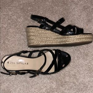 Via Spiga Wedge Sandals - Size 7.5